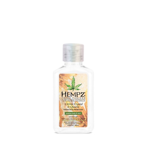 Hydratační tělový krém - krystal citrinu a křemen 65 ml