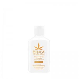 Hydratační tělový krém - tahitská vanilka a zázvor 65 ml