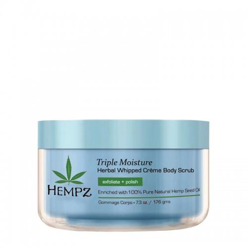 Tělový peeling - trojitá hydratace 215 ml