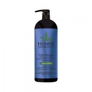 Kondicionér a maska pro suché a poškozené vlasy - trojitá hydratace 1000 ml