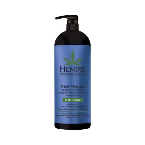 Denní kondicionér a maska pro suché a poškozené vlasy - trojitá hydratace 1000 ml
