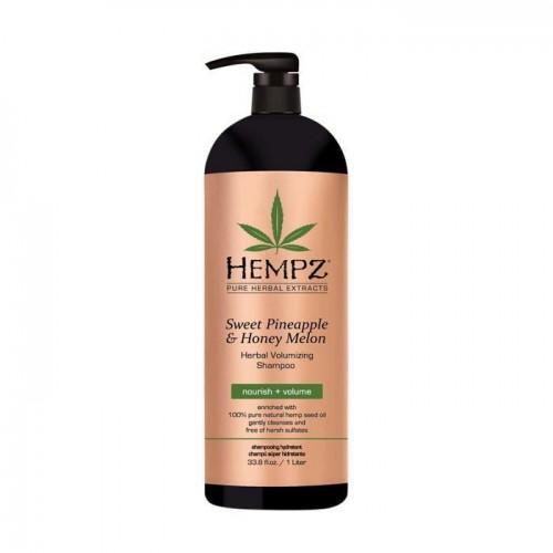 Šampon pro objem vlasů - sladký ananas a medový meloun 1000 ml