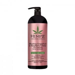 Denní krémový kondicionér pro barvené vlasy - grapefruit a malina 1000 ml