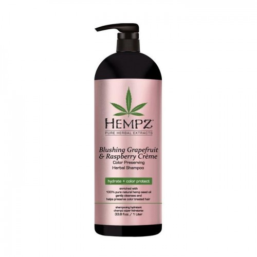 Denní krémový šampon pro barvené vlasy - grapefruit a malina 1000 ml
