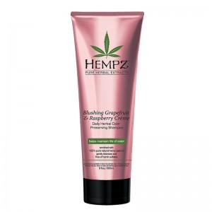 Krémový šampon pro barvené vlasy - grapefruit a malina 266 ml