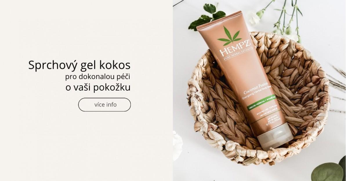 Sprchový gel - kokos